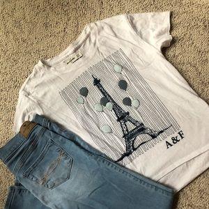 Abercrombie Kids High Low Tshirt Sz 11/12